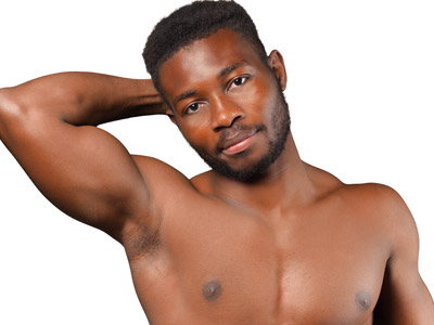laser hair removal for men black